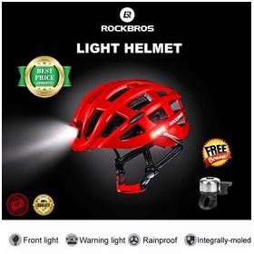 ROCKBROS Helm Sepeda Light