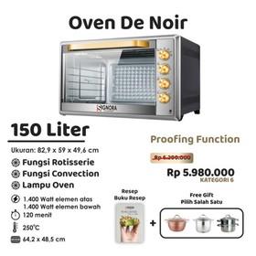 Signora Oven De Noir 150 Li
