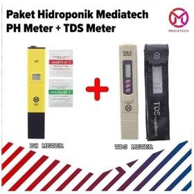 Paket Alat Ukur pH Meter &