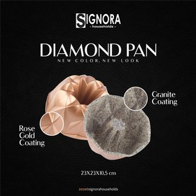 Signora Diamond Pan - Rose