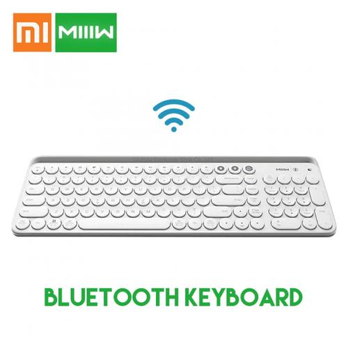 XIAOMI MIIW MWBK01 Wireless Dual Mode Keyboard 2.4GHz Bluetooth White