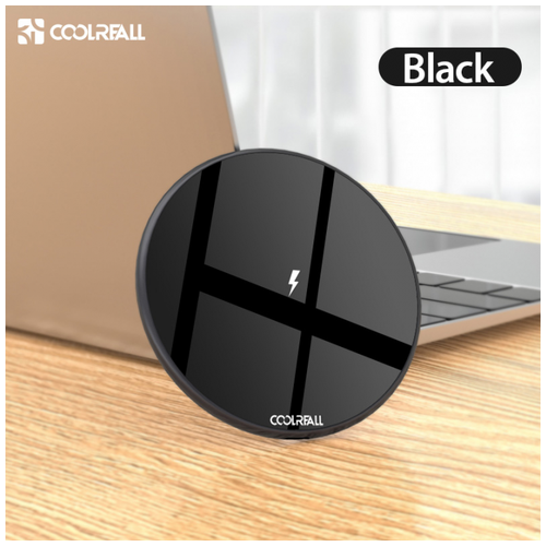 G1Y15 15W Qi Wireless Charger Universal Fast Charging Black