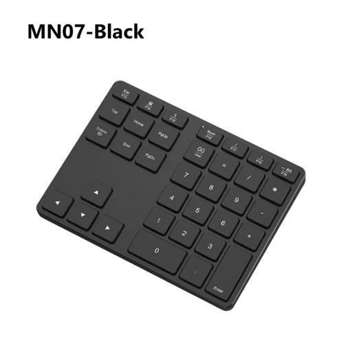 AVATTO 34 keys Bluetooth Wireless Numeric Keypad for Tablet Laptop PC Black