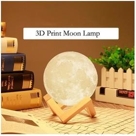 3D Print Moon Lamp Desk Lig