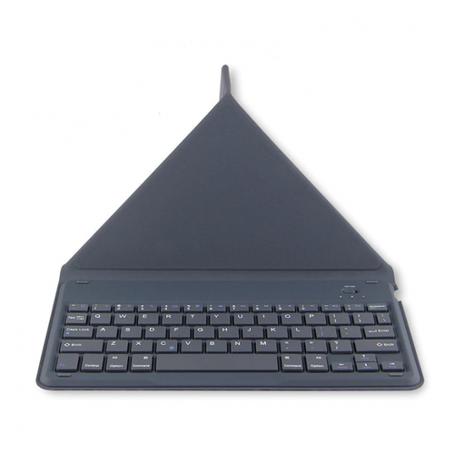 HUWEI JP280 Universal Bluetooth Keyboard Case For Phone And Tablet Grey