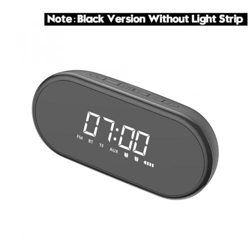 BASEUS ENCOK E09 Light Bluetooth Speaker Wireless Digital Alarm Clock Black