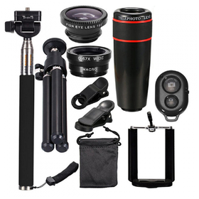Smartphone Lens 10 in 1 Wit