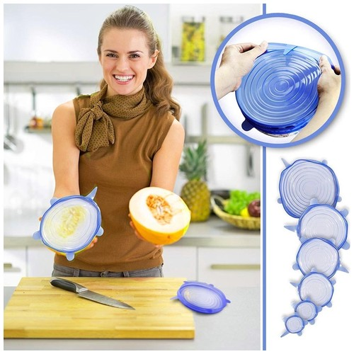 FOOD COVER STRETCH BOWL SILICONE COVER LID