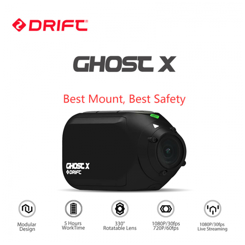 DRIFT GHOST-X Bike Motorcycle Action Sport Camera 1080P With WiFi