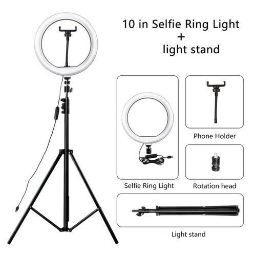 Lampu Tik Tok / Ring Light O Lampu Make Up