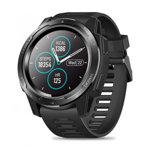 ZEBLAZE VIBE 5 HR Sport SmartWatch Waterproof IP67 Heart Rate Monitor Black