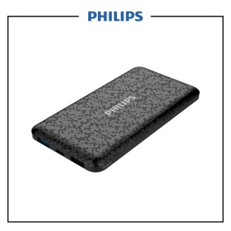 Philips Power Bank 10.000 mAh Type C & Micro DLP6715N-BK - Black
