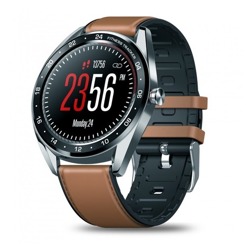 ZEBLAZE NEO Touch Display SmartWatch Heart Rate Blood Pressure Silver