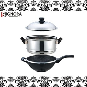 Signora New Steam Wok