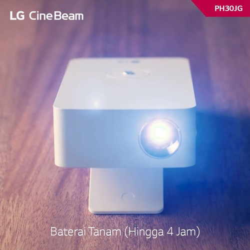 LG LED Projector PH30JG - White