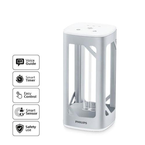 Philips UVC Disinfection Desk Lamp - Silver