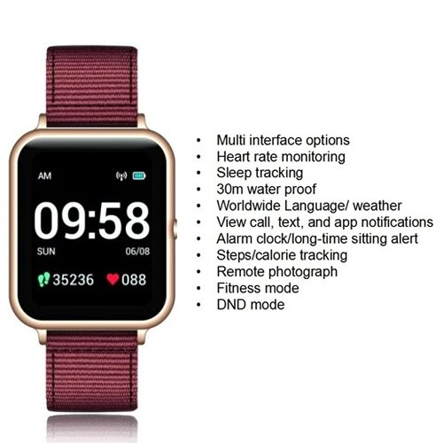 Lenovo Smartwatch S2 - Gold