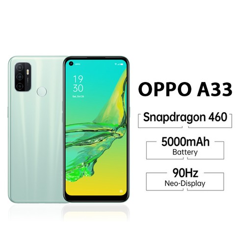 Oppo A33 (RAM 3GB/32GB) - Green