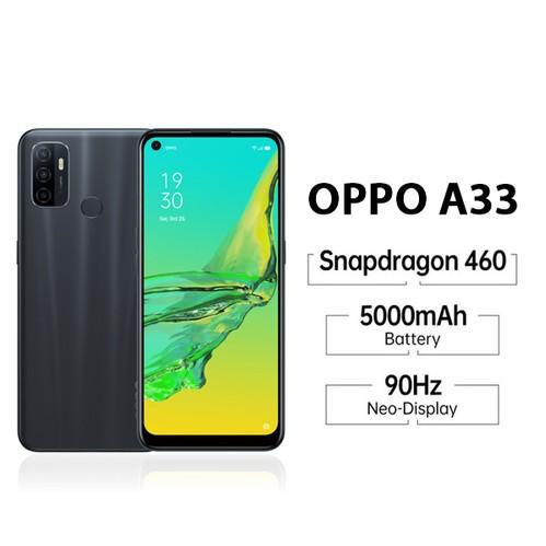 Oppo A33 (RAM 3GB/32GB) - Black