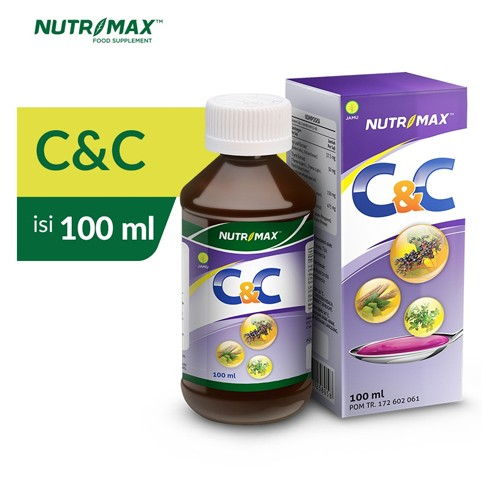 Nutrimax - C&C SYRUP (100 ml)