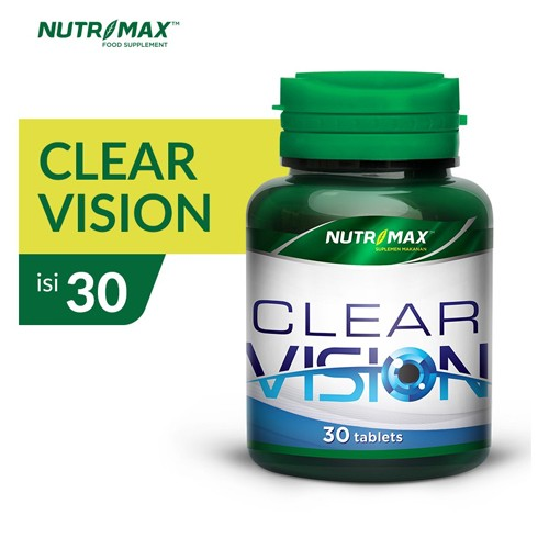 Nutrimax - CLEAR VISION (30 Tablet)