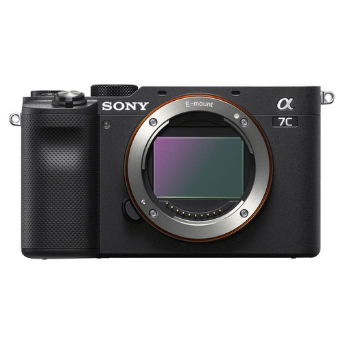 Sony Alpha A7C (ILCE-7C) Mirrorless Digital Kamera (Body Only) - Black