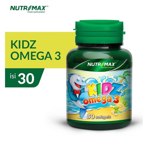 Nutrimax - KIDZ OMEGA 3 (30 Softgel)