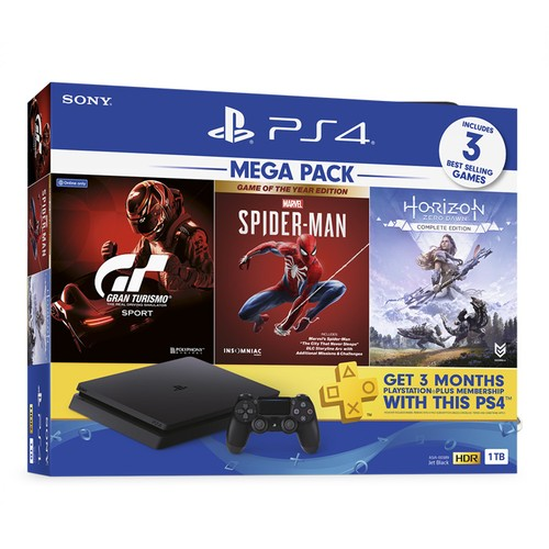 Sony PlayStation 4 Mega Pack 3 1TB