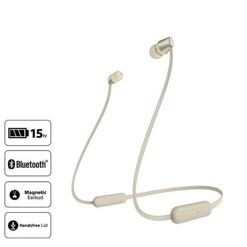 Sony In-ear headphone Nirkabel WI-C310/N - Gold