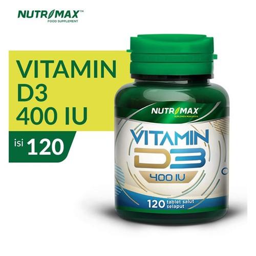 Nutrimax - VITAMIN D3 400 IU (120 Tablet)