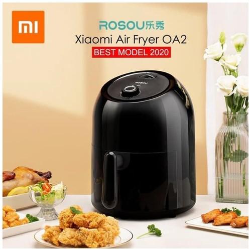 Xiaomi Onemoon Rosou Air Fryer Mesin Penggoreng Udara Tanpa Minyak 2nd Edition 2.5L - OA2 - Black