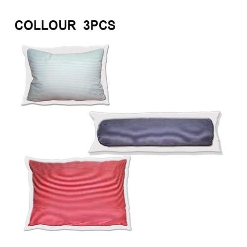 Paket Bantal dan guling Tricolor isi 3
