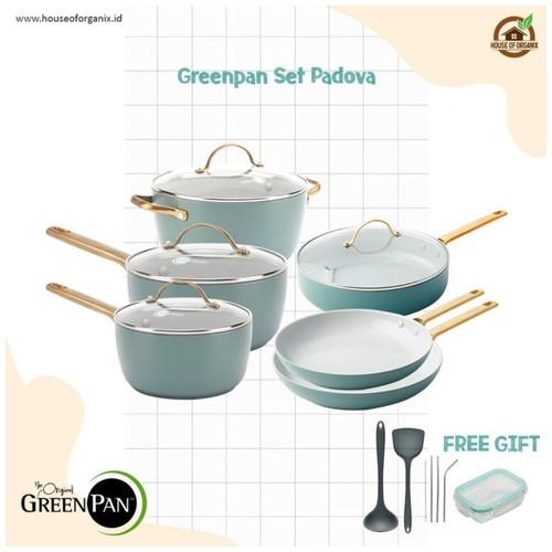 GreenPan Padova Smokey Blue Sets 6 Pcs