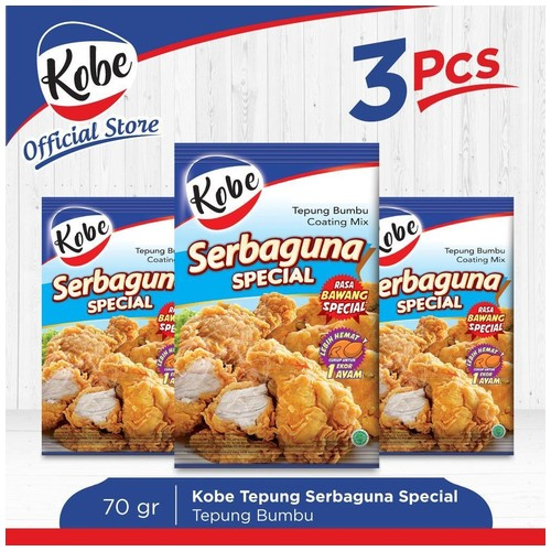 Kobe Tepung Serbaguna Special 70gr x 3pcs