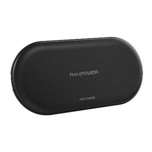 RAVPower RP-PC067  5W for iphone 10W for Android 4 coils wireless charger - black