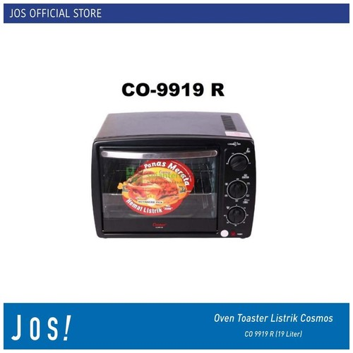 COSMOS Oven Toaster Listrik CO 9919 R (19 Liter)