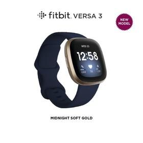 Fitbit Versa 3 - Midnight/S
