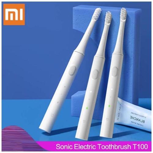 Xiaomi Mijia T100 Sonic Sikat Gigi Elektrik 1PCS - MES603 - White