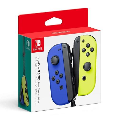 Nintendo Switch Joy-Con Controller Set - Blue and Neon Yellow