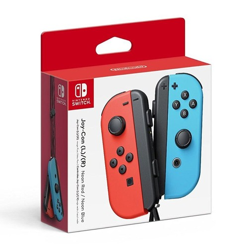 Nintendo Switch Joy-Con Controller Set - Neon Red and Blue