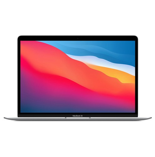 Apple 13 inch Macbook Air With M1 8-core CPU 8GB/256GB SSD - Silver (2020)- MGN93ID/A