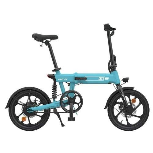 Xiaomi HIMO Z16 Sepeda Elektrik Folding Bike Bicycle Sepeda Lipat Listrik-BIRU