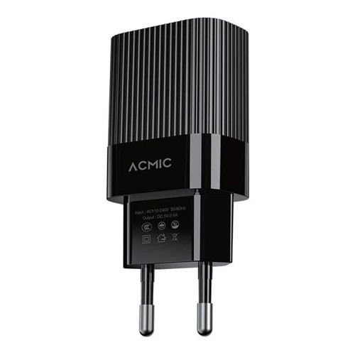ACMIC Wall Charger CWC02S - Black