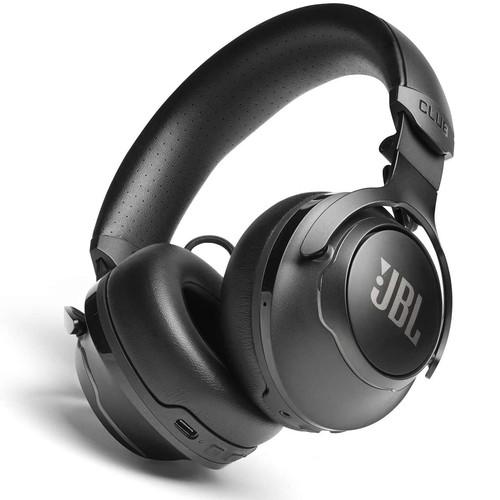 JBL Club 700BT Wireless On-Ear Headphones - Black