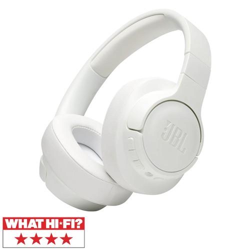JBL Tune 750BT NC Wireless Over-Ear ANC Headphones - White