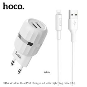 HOCO C41A Wisdom dual USB p