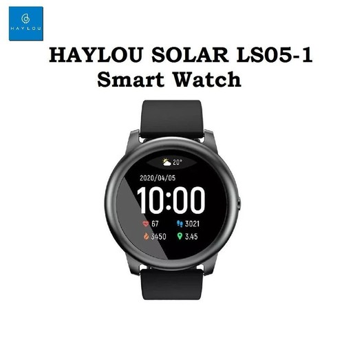 HAYLOU SOLAR LS05-1 - Sporty IP68 Smart Watch with Heart Rate Monitor