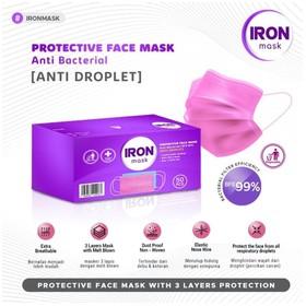 Iron Protective Mask 3Ply i