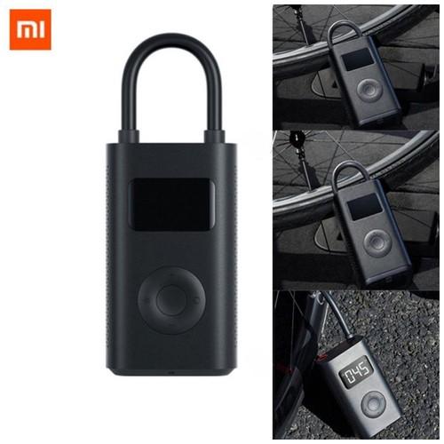 Xiaomi Mijia Pompa Angin Smart Pump Digital Portable - MJCQB01QJ - Black