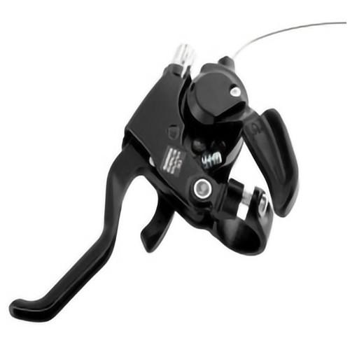 Shimona Speed Shifter Handle Brake Rem Sepeda 7 Speed 2 PCS - Black